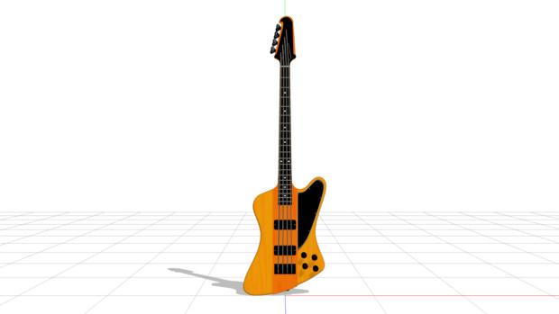 【MMDモデル配布】Thunderbird Bass