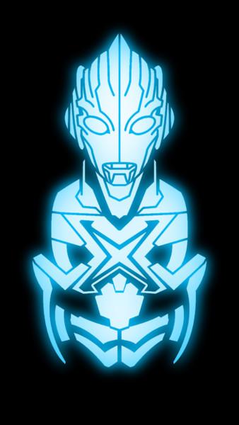 ウルトラマンXのスマホ壁紙