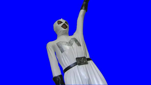 「イー!」と返事をするメガデス戦闘員BB静止画
