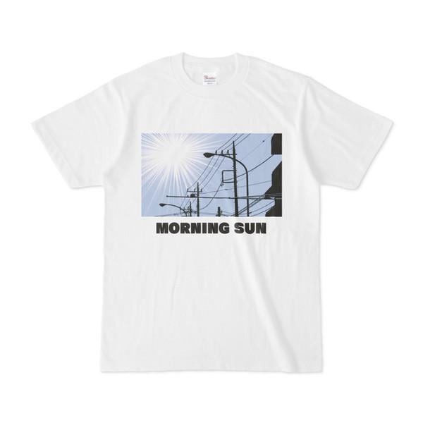 シンプルデザインTシャツ MORNING SUN
