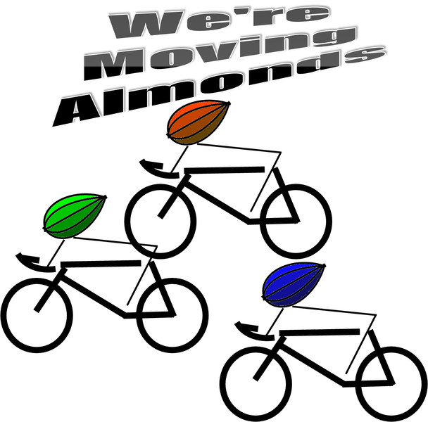 【自転車】We're Moving Almonds【アーモンド】