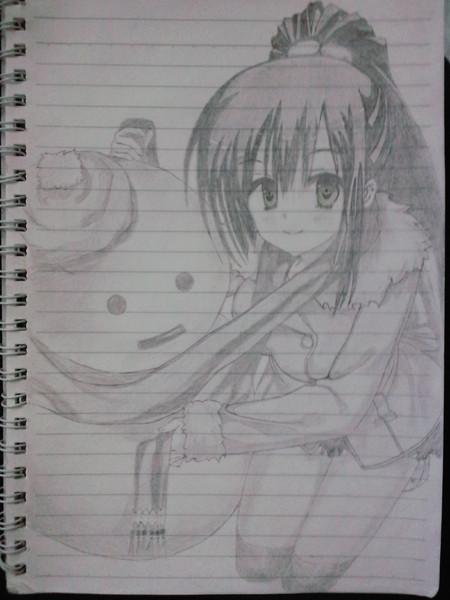 雪だるま&セラ