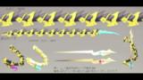 【Fate/MMD】アスクレピオスの蛇くんと武器のメス【配布】
