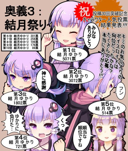 コココーコ・コーコ紺 人気投票順位発表!