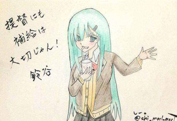 鈴谷さんとお絵描き練習