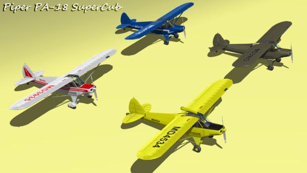 パイパー PA-18 スーパーカブ