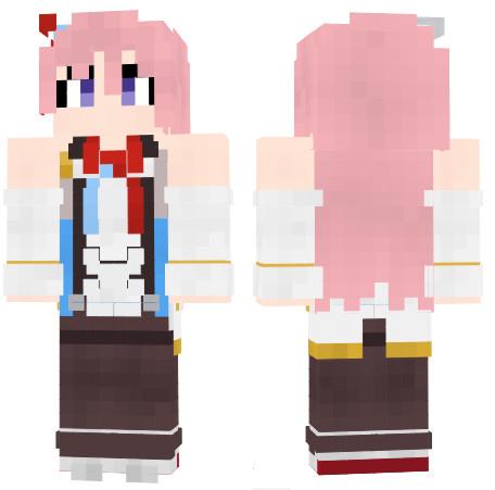 レキシントン アズールレーン Minecraft Skin