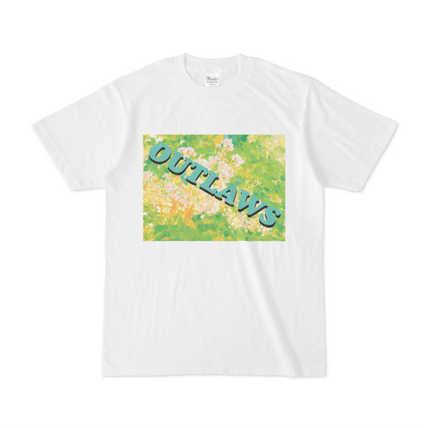 シンプルデザインTシャツ 不良植物