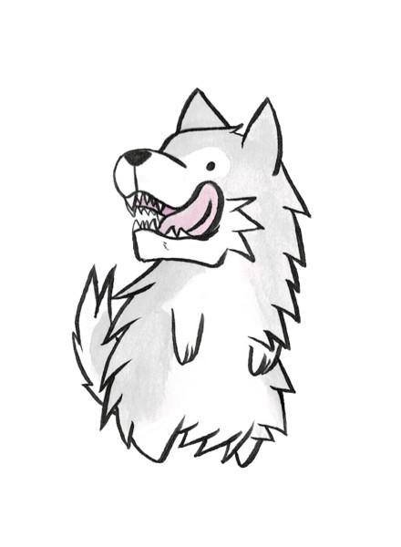 おかしな狼