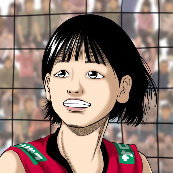 女バレ古賀紗理那さん描いてみた♪W杯2019女子バレーボールワールドカップ