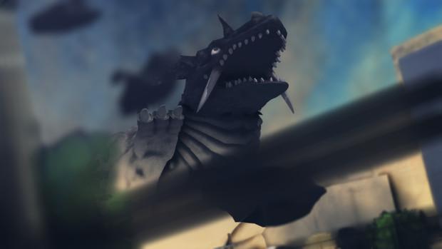 再登場の地底怪獣