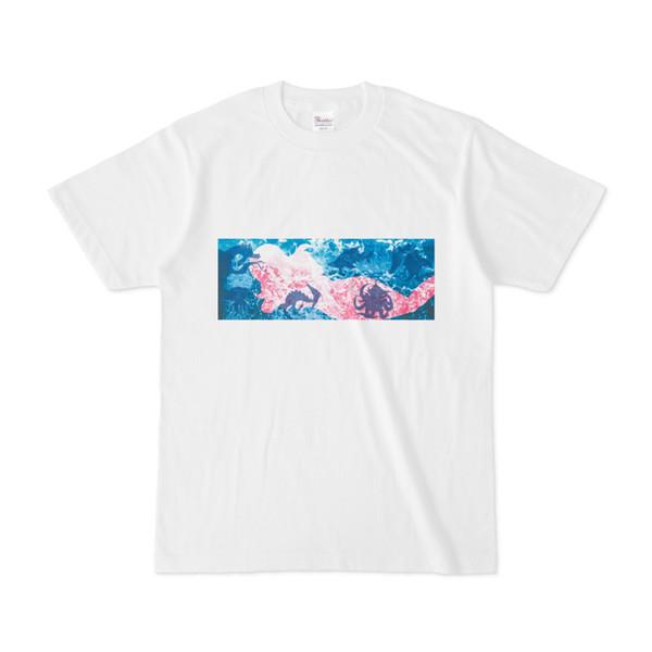 シンプルデザインTシャツ 海の巫女