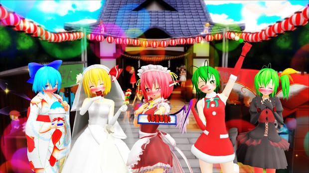【第11回東方ニコ童祭Ex】メインキービジュアル
