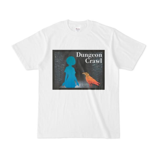 シンプルデザインTシャツ 迷宮と相棒