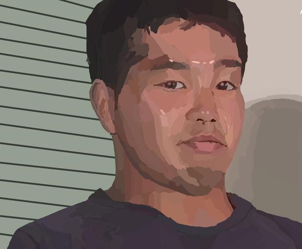 芸術家レ☆プ!油絵と化した先輩