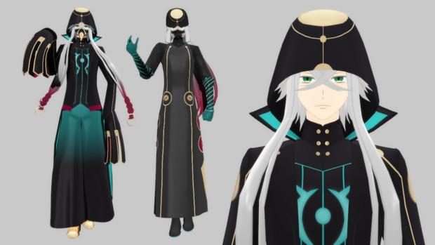 【Fate/MMD】enoeco式アスクレピオス0.91【モデル配布】