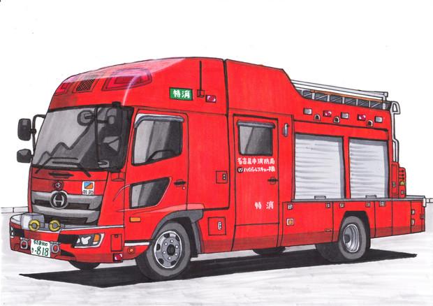 もしも名古屋市消防局がバス型の救助工作車を採用したら…? / うすしお ...