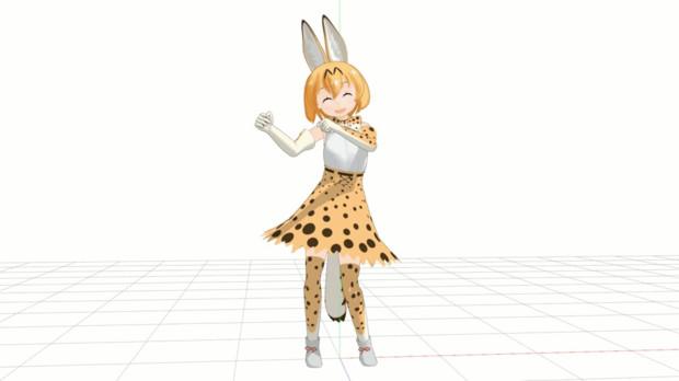 【モーション配布】ごきげんダンス(仮)