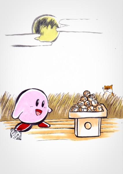 【もどき】カービィとお月見