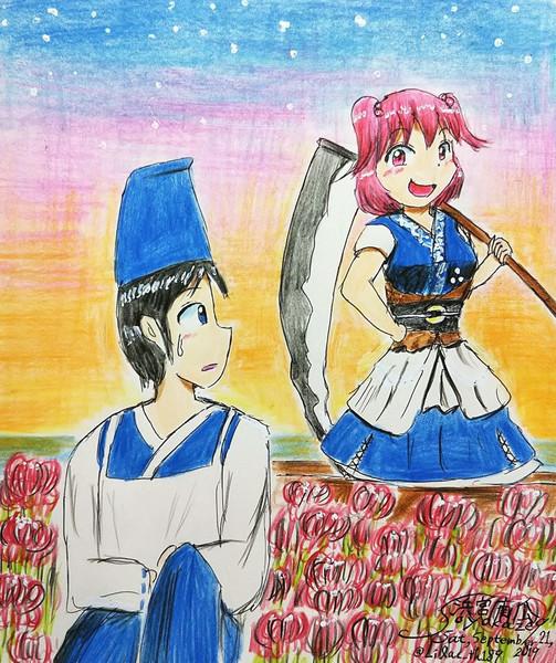 初対面のSinGyokuと小町
