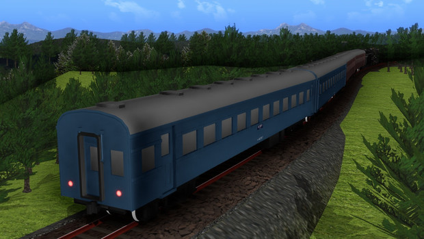 【モデル配布】42系旧型客車