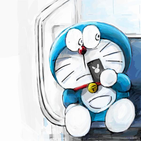 電車で隣にやべー奴が座ってきたときのドラえもん