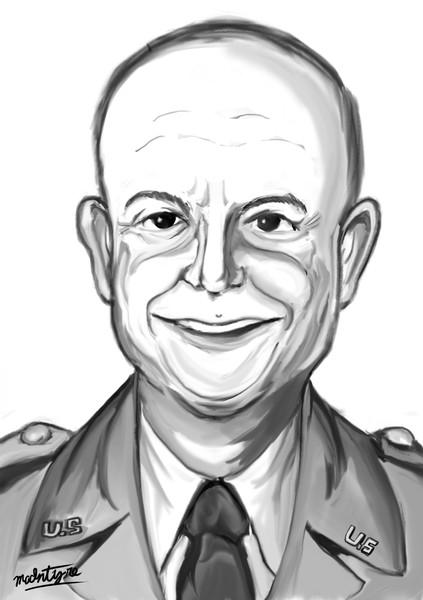 合衆国第34代大統領・陸軍元帥 ドワイト・デビッド・アイゼンハワー
