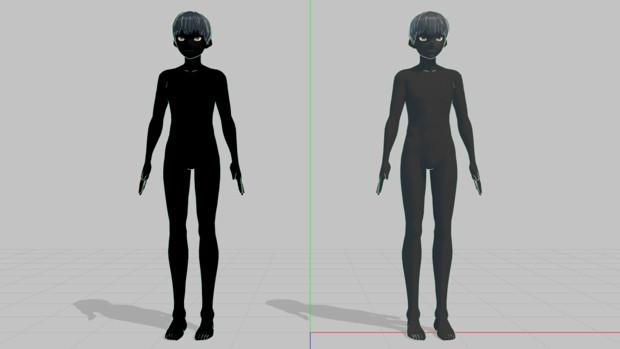 VRoid_犯人モデル更新