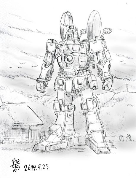 エゥーゴ団試作型MS「プロトガンマガンダム」