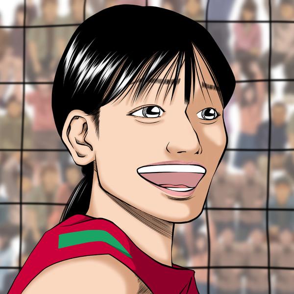 【女バレ】-石川真佑さん描いてみた♪-W杯2019女子バレーボールワールドカップ