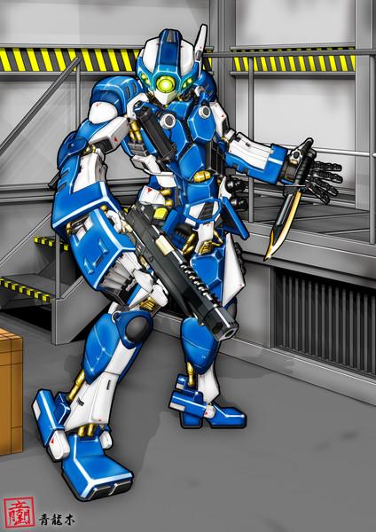 オリジナル自立戦闘ヒューマノイド