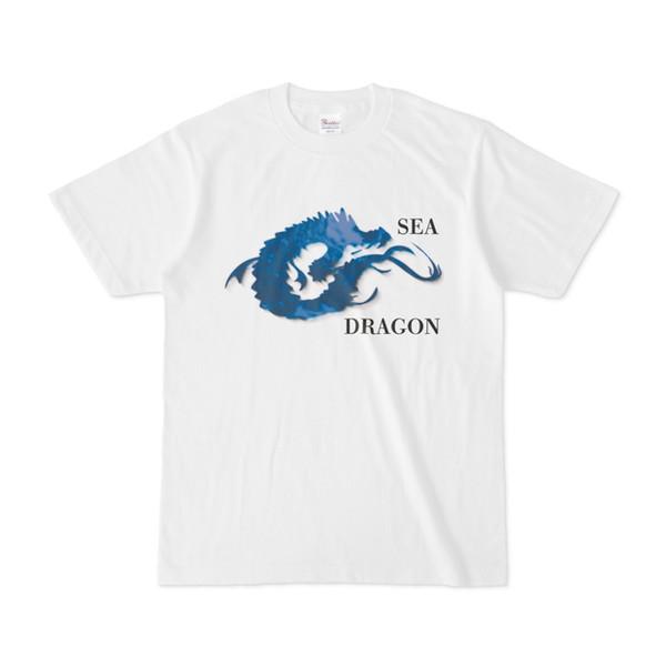 シンプルデザインTシャツ SEA DRAGON
