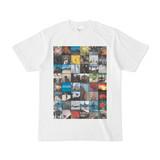 シンプルデザインTシャツ コモンズTシャツ 枠付き
