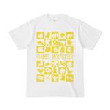 シンプルデザインTシャツ GAME MONSTER(YELLOW)