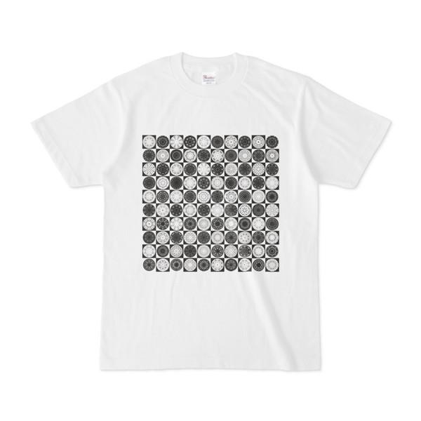 シンプルデザインTシャツ Othello(BLACK)
