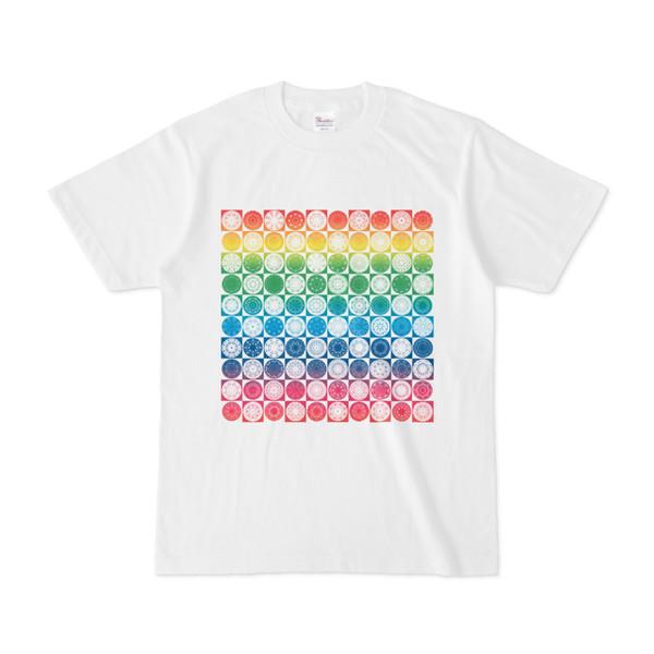 シンプルデザインTシャツ Othello(RAINBOW)