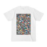 シンプルデザインTシャツ Gigant216(黒枠付き)