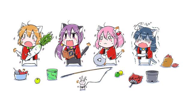 秋刀魚が… 秋刀魚が…。