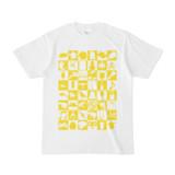 シンプルデザインTシャツ Spur_48(YELLOW)