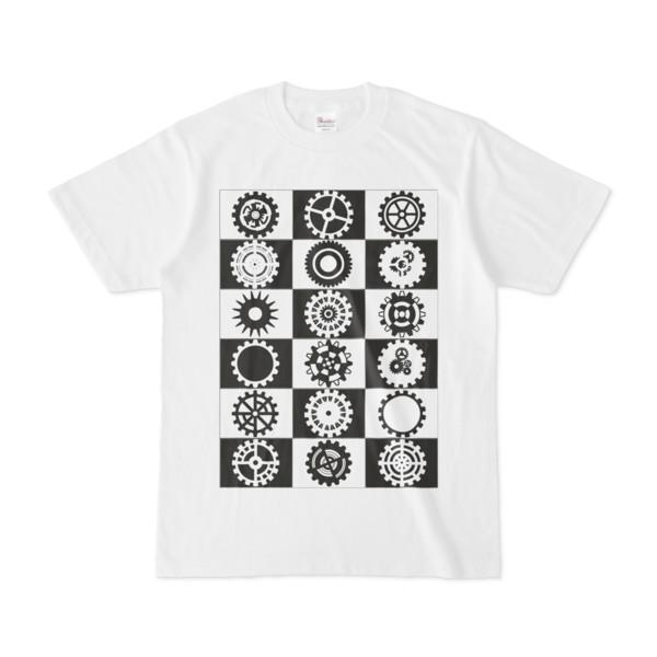 シンプルデザインTシャツ ギアでギアしてギアをするR