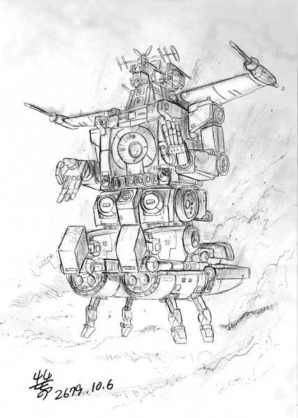 サイコミュ搭載型プロトタイプMS「サイコガンダム一号機」