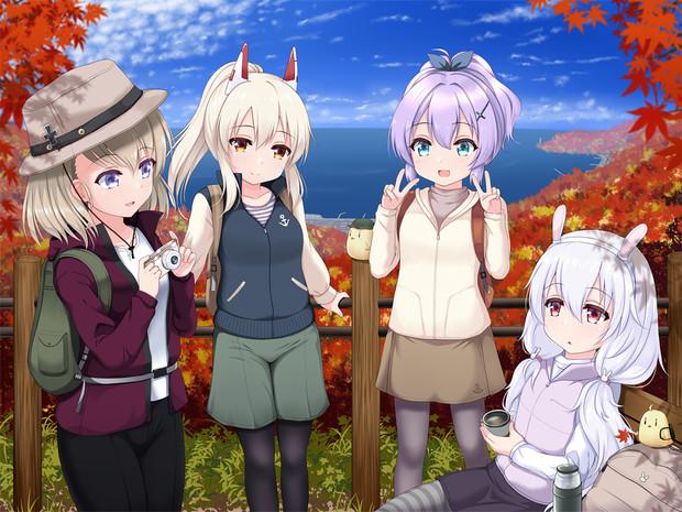 秋の主人公組