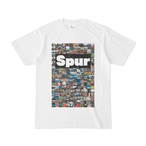 シンプルデザインTシャツ Spur/176_A(BLACK)