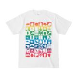 シンプルデザインTシャツ Spur_48(RAINBOW)