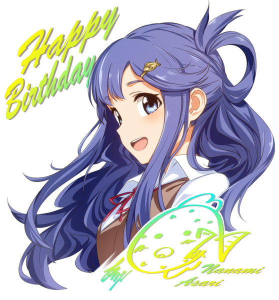 Happy Birthday!浅利七海