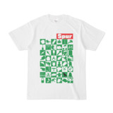 シンプルデザインTシャツ Spur_48_ON(GREEN)