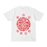 シンプルデザインTシャツ M_Ladybird(RED)
