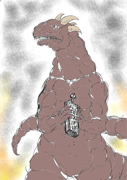 怪獣を育てて世界征服に利用しよう