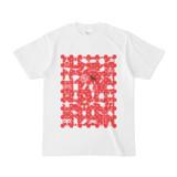 シンプルデザインTシャツ Spur_D(RED)