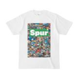 シンプルデザインTシャツ Spur_176/2(GREEN)
